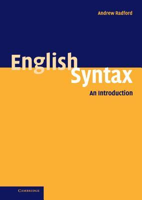English Syntax: An Introduction by Andrew Radford — Reviews ...