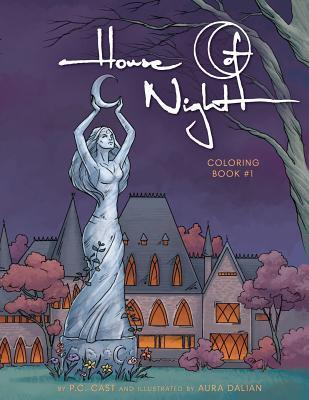 House of Night Coloring Book #1