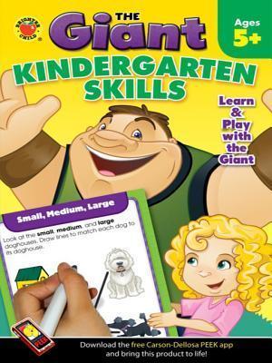 Giant: Kindergarten Skills Activity Book