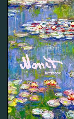 Monet Notebook: Water Lilies and Japanese Bridge ( Journal / Cuaderno / Portable / Gift )