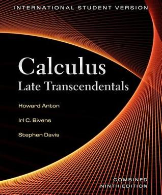 Calculus: Late Trancendentals, Combined