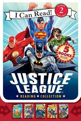 Justice League Reading Collection: 5 I Can Read Books Inside!
