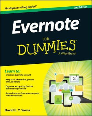 Evernote for Dummies by David E.Y. Sarna