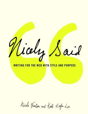 Book cover of Nicely Said