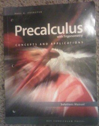 Precalculus W/Trigonometry