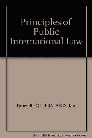 International law brownlie pdf public