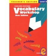 Vocabulary Workshop: Level A - Teacher's Edition