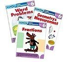 Kumon Grade 6 Math workbooks (3 books) - Fraction, Geometry & Measurement and Word Problem