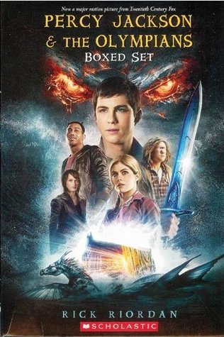 Percy Jackson & the Olympians Box Set: The Lightning Thief, The Sea of Monsters, The Titan's Curse, The Battle of the Labyrinth, and The Last Olympian