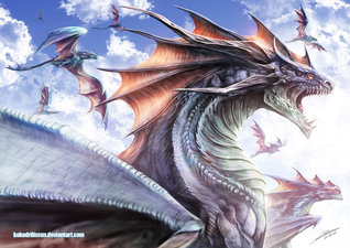 Monarcas del fuego (Art Book de dragones)