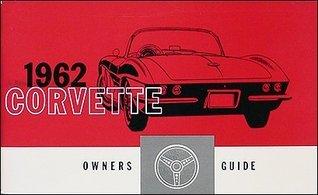 1962 Corvette Reprint Owner's Manual 62