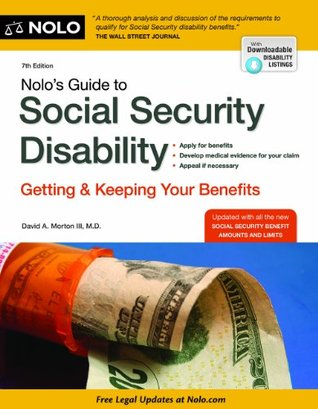 Nolo's Guide to Social Security Disability: Getting and Keeping Your Benefits