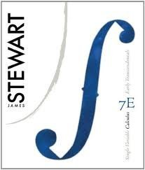Student Solutions Manual for Stewart's Single Variable Calculus: Early Transcendentals 7th (seventh) edition