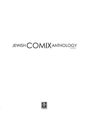 The Jewish Comix Anthology