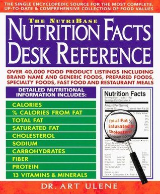 The NutriBase Nutrition Facts Desk Reference by Art Ulene