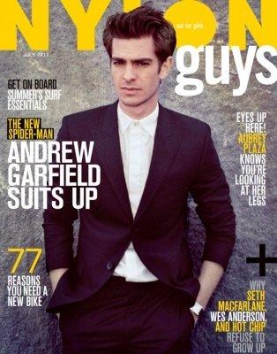 NYLON Guys Magazine - Andrew Garfield (The Amazing Spiderman)