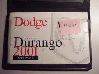 2001 Dodge Durango Owners Manual