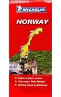 Michelin Map Norway 752