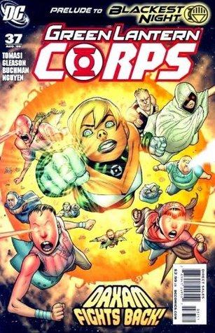 "Green Lantern Corps #37 ""Emerald Eclipse Pt.5"""