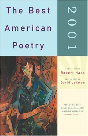 The Best American Poetry 2001