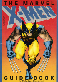 The Marvel X Men Guide Book