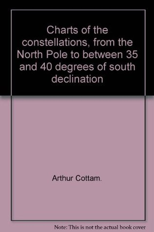 Charts of the constellations, from the North Pole to between 35 and 40 degrees of south declination