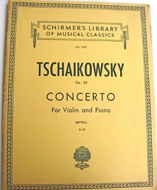 Concerto for Violin and Piano, Opus 35 (Schirmer's Library of Musical Classics, Volume 1185)