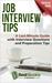 Job Interview Tips: A Last-...