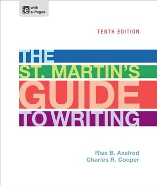 St Martins Guide to Writing 10th EDITION
