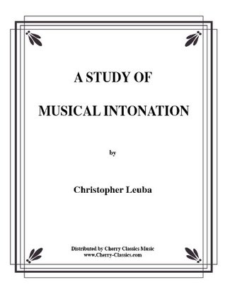 Study In Musical Intonation by Christopher Leuba
