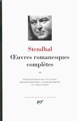 Oeuvres romanesques completes tome 3 [Bibliotheque de la Pleiade