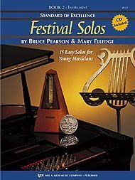 Standard of Excellence: Festival Solos Flute (Book & Cd Package, one)