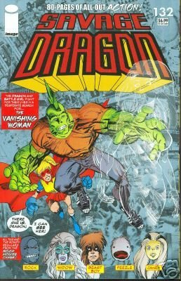 Savage Dragon #132 - (80-pages of all-out Action!)