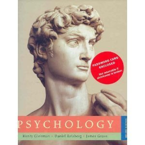 Psychology (text only) 7th (seventh) edition by h. Gleitman, j.