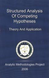 Structured Analysis of Competing Hypotheses Theory and Application