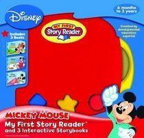 Mickey Mouse: My First Story Reader And 3 Interactive Storybooks