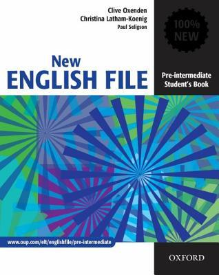 New english file pre intermediate students book by clive oxenden new english file pre intermediate students book fandeluxe Gallery