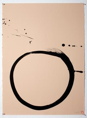 Max Gimblett: The Sound of One Hand: Calligraphy Practice 1967-2014