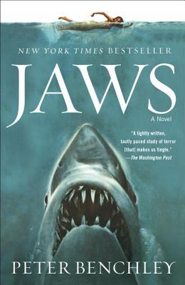 Book cover for Jaws by Peter Benchley.