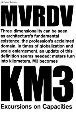 Km3-Excursions on Capacities