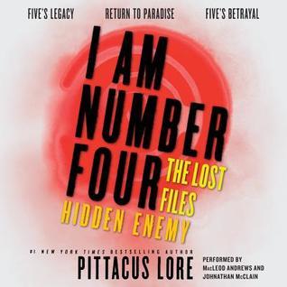 Hidden Enemy (Lorien Legacies: The Lost Files, #7-9)