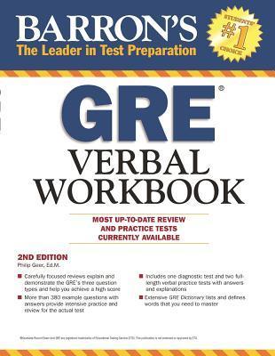 Barron's GRE Verbal Workbook, 2nd Edition Descarga gratuita de ebooks de epub en Google