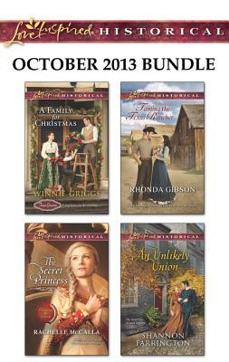 Love inspired historical october 2013 bundle: an anthology by Winnie Griggs
