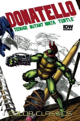 Teenage Mutant Ninja Turtles: Color Classics - Donatello Micro Series #3