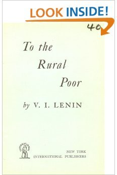 To the Rural Poor