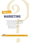 What Is Marketing? by Alvin J. Silk