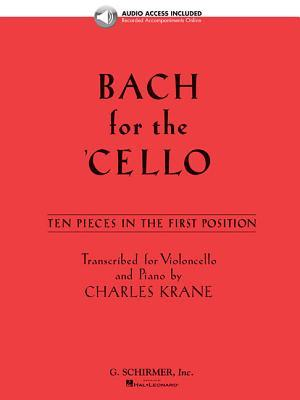 Bach for the Cello: 10 Easy Pieces in 1st Position