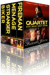 MY HOT QUARTET (Volumes 1-4 of the