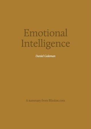 Key insights from Emotional Intelligence