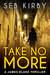 Take No More (James Blake #1)